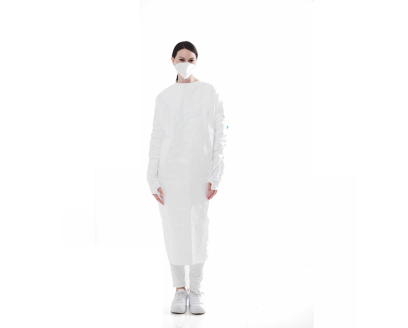 Tyvek Isolation Gown