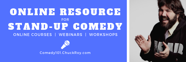 Comedy101 Online Resources for Stand-up Comedy