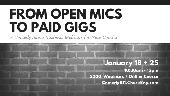 From Open Mics to Paid Gigs