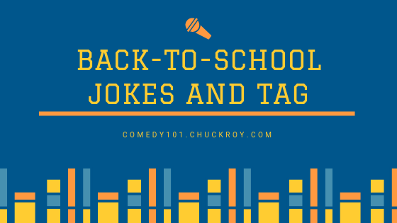 Back to School Jokes and Tags