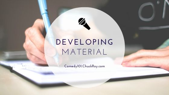 """Title Image for """"Developing Material"""""""