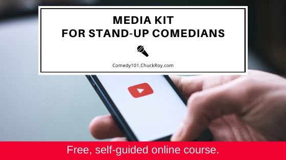 Media Kit for Stand-up Comedians (2020)