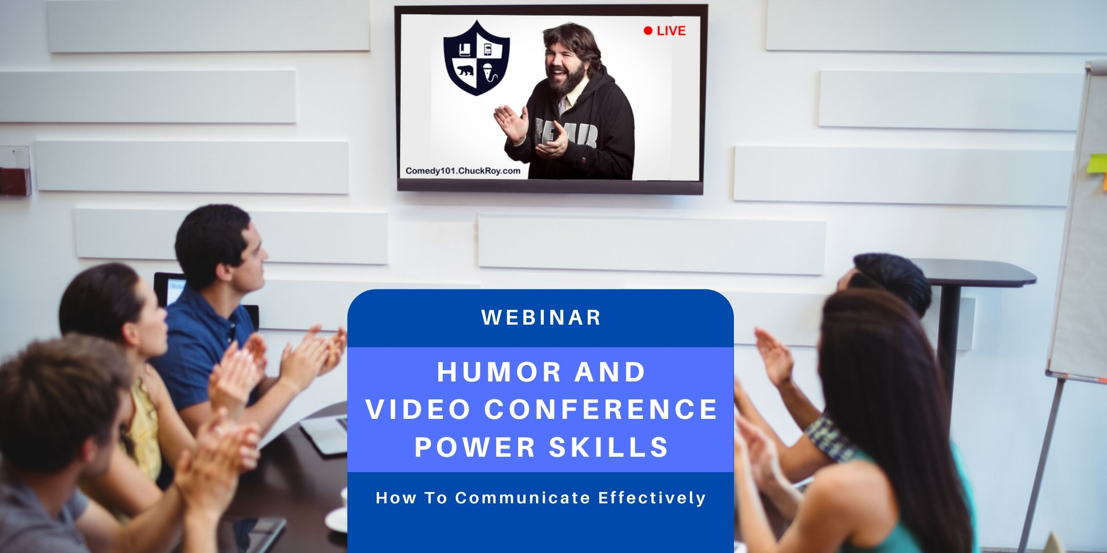 Webinar Humor and Video Conference Power Skills