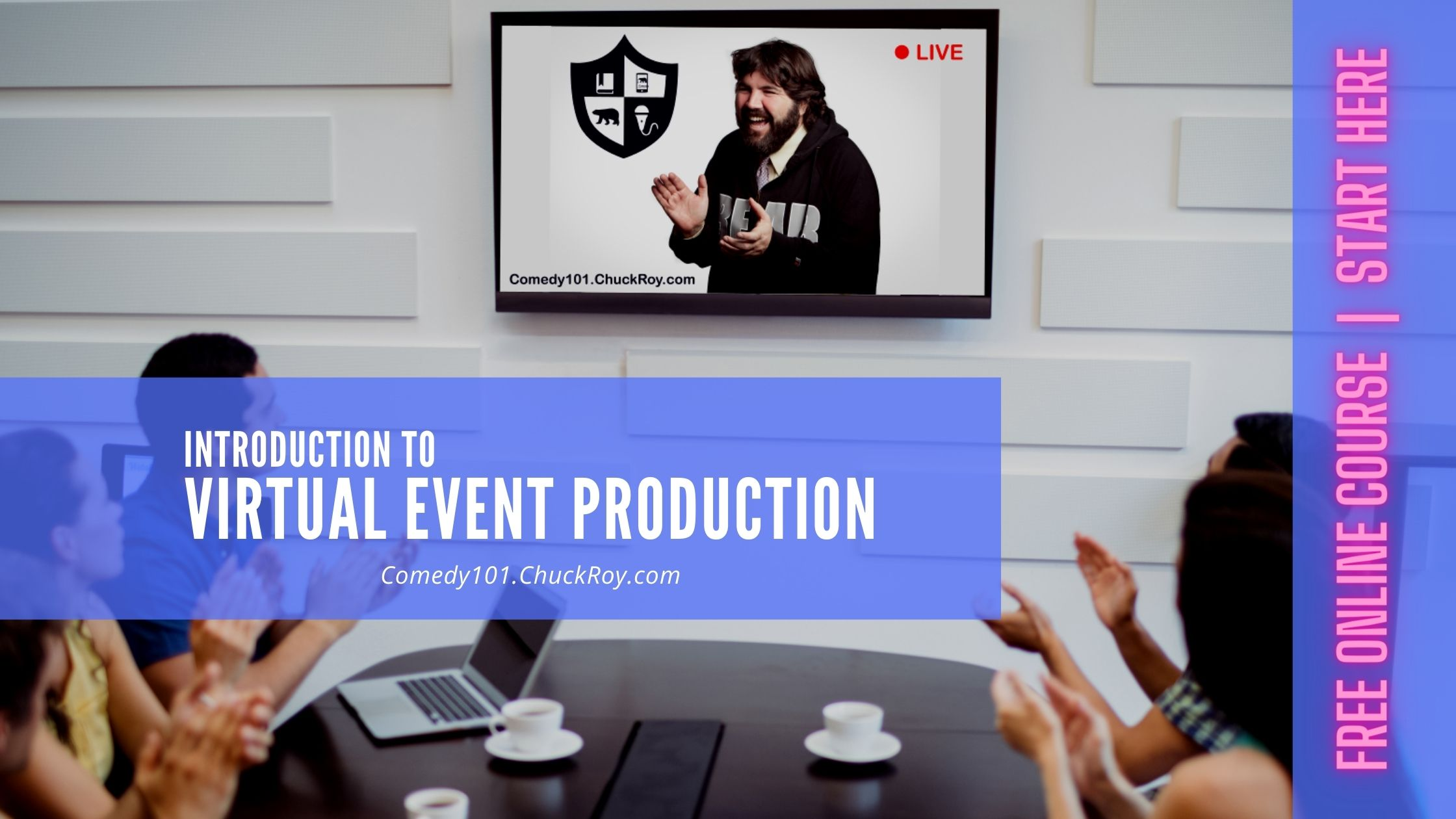 Intro to Virtual Events Site Image