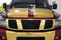 Chrome Gold Truck Accents