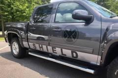 Custom Graphics - The Shield Truck
