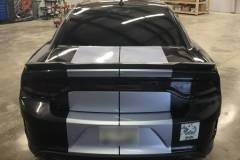 Custom Rear Bumper Stripes - Charger