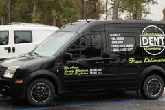 Logo and Lettering for Transit Van