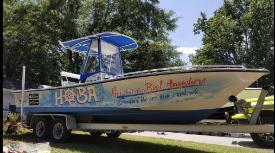 Boat wraps Wrapstar Studio Charleston