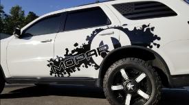 Custom graphics and lettering WrapStar Studio Vehicle Wraps Charleston