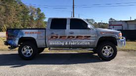 Full commercial vehicle wrap Charleston