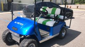 Golf cart wraps Wrapstar Studio Charleston