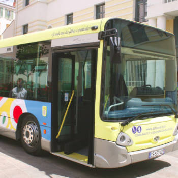 Public Transportation application Pure Zone antimicrobial protection film Charleston Wrapstar