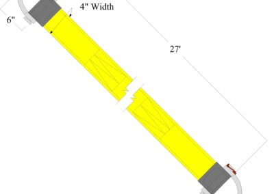 PN053 4in Vehicle Recovery Strap-Model