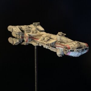 Death Star mobile - Bandai 1:1,000 Blockade Runner