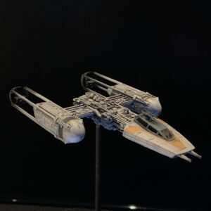 Death Star mobile - Bandai 1:144 Y-Wing Fighter