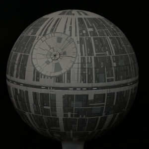 Death Star mobile - AMT-ERTL Death Star