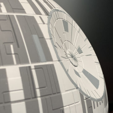Death Star Mobile: Build Log, Part 4