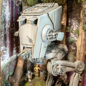 Star Wars AT-ST Diorama - Bandai AT-ST