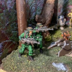 Star Wars AT-ST Diorama - Star Wars Legion Commandoes