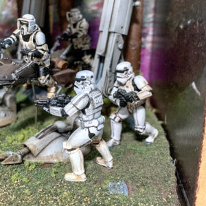 Star Wars AT-ST Diorama - Star Wars Stormtroopers