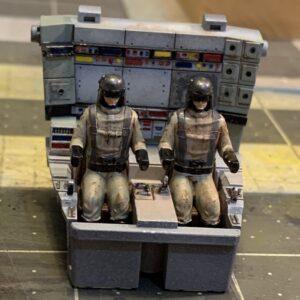 Star Wars AT-ST Diorama cockpit