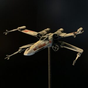 Death Star Mobile Build Log Part 3 - Bandai 1:144 X-Wing complete