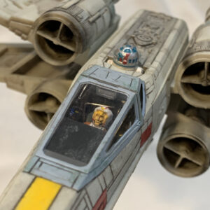 Revell X-Wing Fighter - cockpit