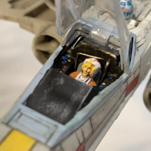 Revell X-Wing Fighter - pilot