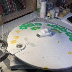 Polar Lights Refit Enterprise: Re-deco log, Part 5: Adjusting the colors