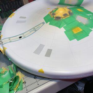 Polar Lights Refit Enterprise: Re-deco log, Part 5: Color checking