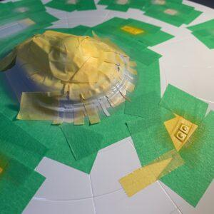 Polar Lights Refit Enterprise: Re-deco log, Part 5: Painting the C deck