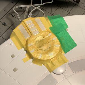 Polar Lights Refit Enterprise: Re-deco log, Part 5: Impulse engine masking