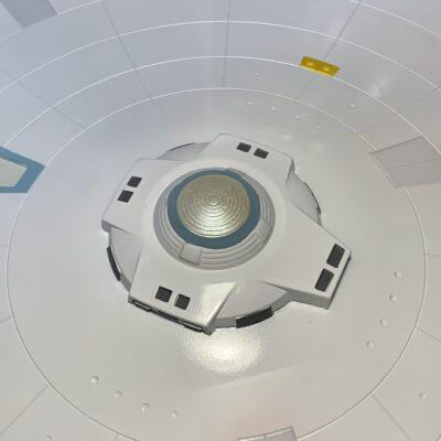 Polar Lights Refit Enterprise: Re-deco log, Part 5: Final Sensor dome detail
