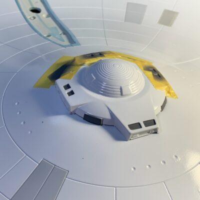 Polar Lights Refit Enterprise: Re-deco log, Part 5: Sensor dome detail