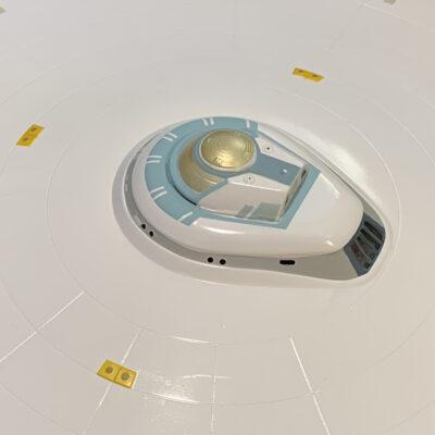 Polar Lights Refit Enterprise: Re-deco log, Part 5: Bridge view