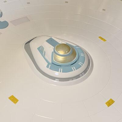 Polar Lights Refit Enterprise: Re-deco log, Part 5: A/B/C deck finished