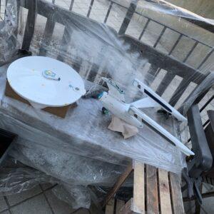 Polar Lights Refit Enterprise: Re-deco log, Part 5: Clear coating