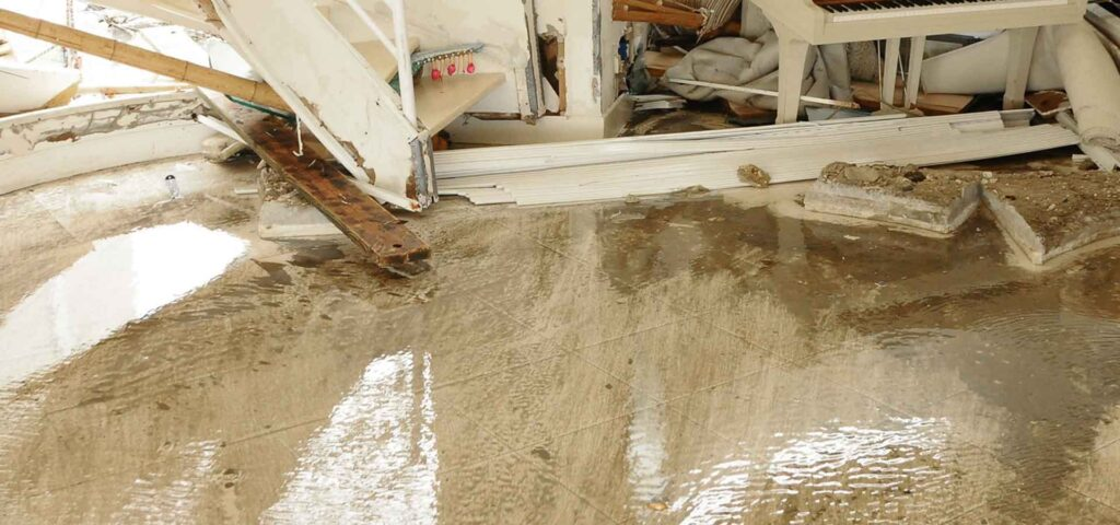water damage dry out restorations