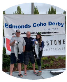 2019 Edmonds Coho Derby winner