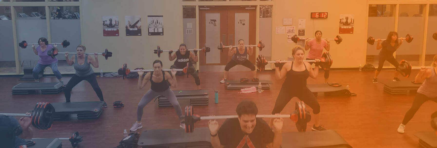 team85 body pump workout