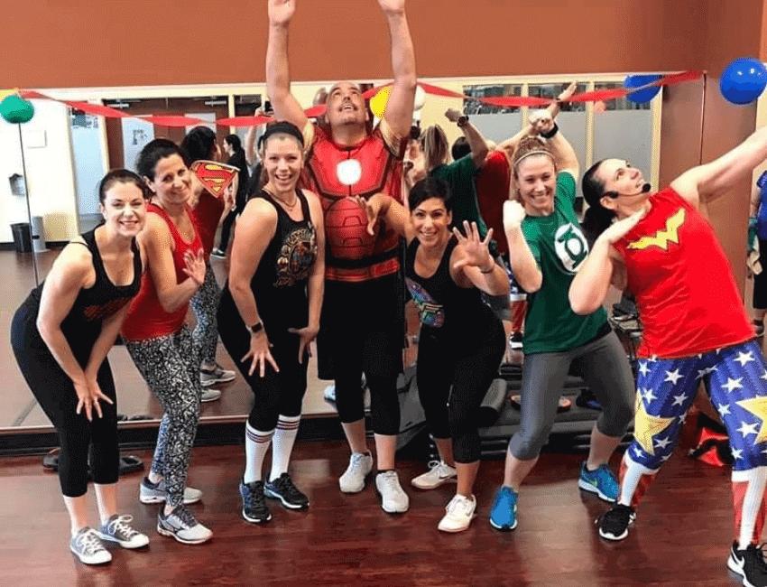 team strength training