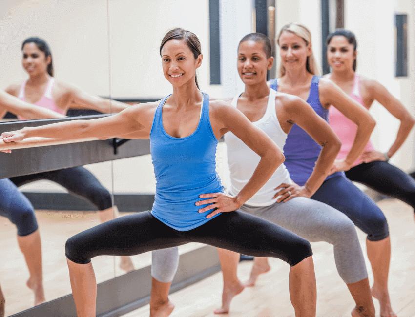 barre strength training class