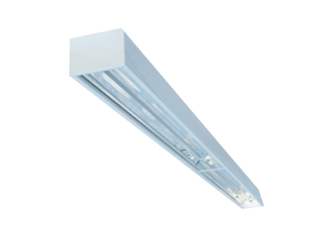 BFSDA - Industrial-Grade Fluorescent Surface and Suspended Mount Paracube Fixture