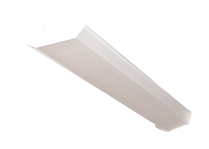 BFWC - Contractor-Grade Fluorescent Surface and Suspended Mount Semi-Wrap