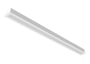 led recessed strip fixture