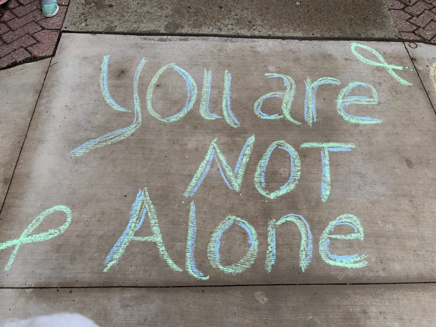 Daily Walkway Messages (Mental Health Awareness 2021)