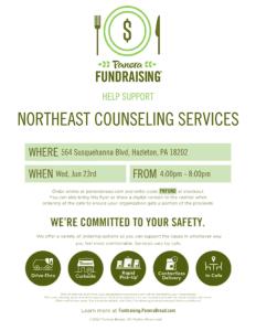 NCS Panera Fundraiser Flyer