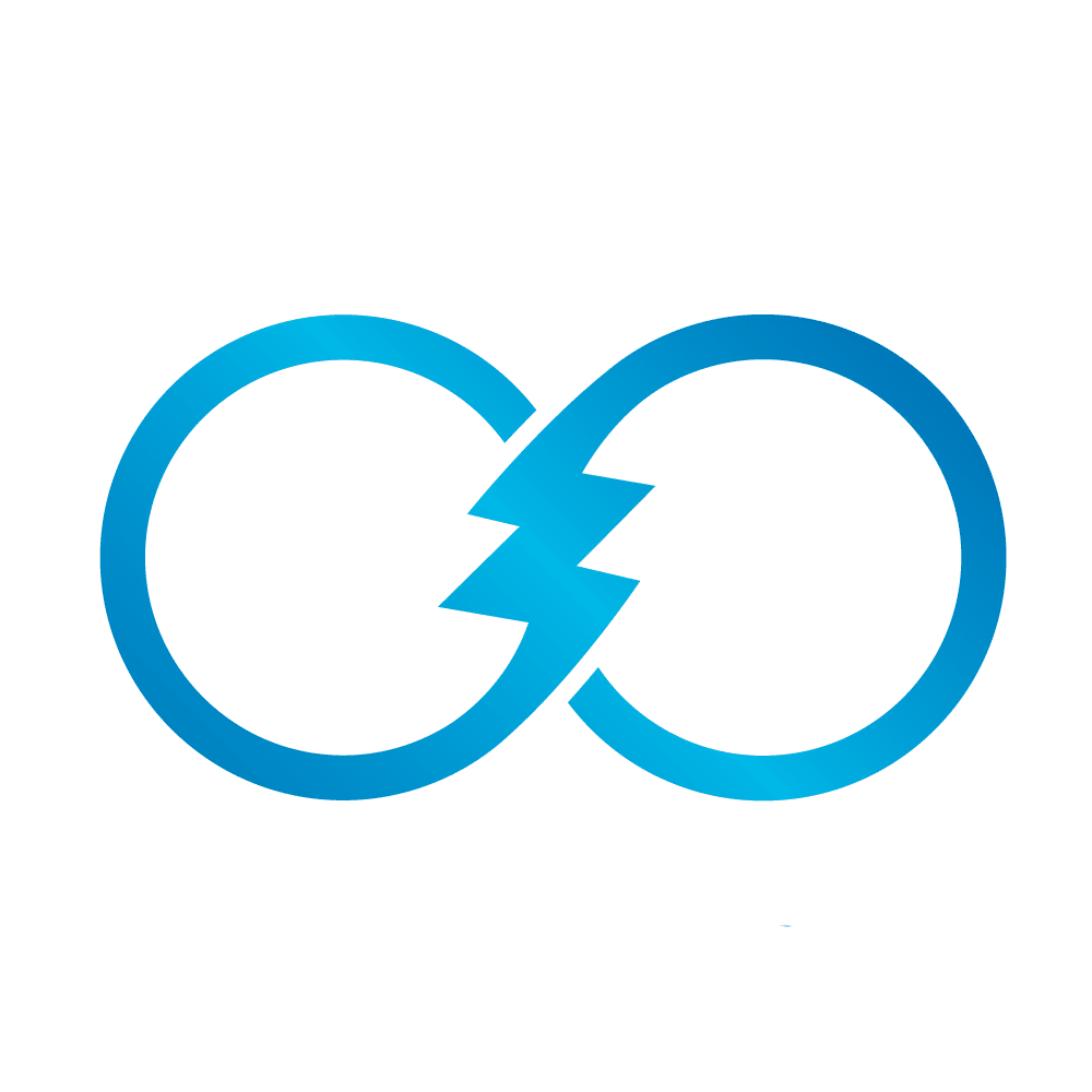 Blue Infinite Logo