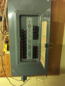 A picture of a federal pacific electrical panel
